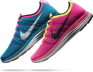 The new super-lightweight Nike Flyknit Lunar +1